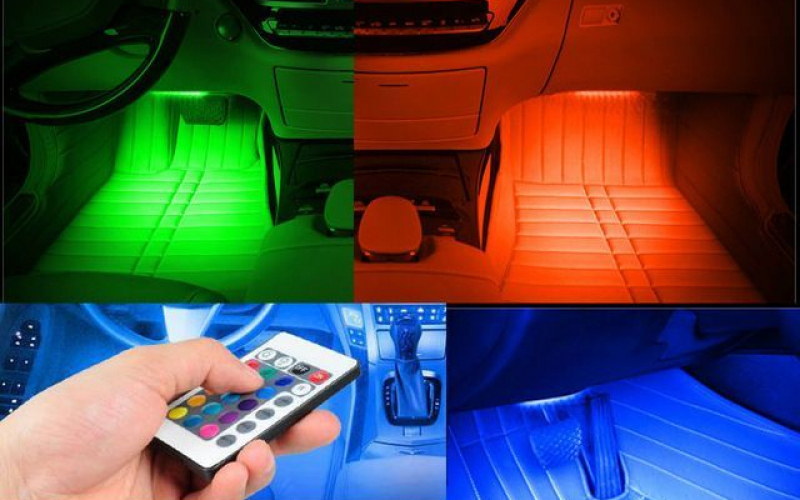 Led világítás autóba